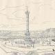 DÉTAILS 04 | Histoire et Monuments de Paris - La Place de la Bastille - Emplacement de ses Anciennes Fortifications et de sa Forteresse en 1789