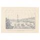 DÉTAILS 06 | Histoire et Monuments de Paris - La Place de la Bastille - Emplacement de ses Anciennes Fortifications et de sa Forteresse en 1789
