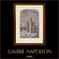 Histoire  et Monuments de Paris - La Tour du Temple