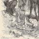 DÉTAILS 01   Révolte des Maillotins sous Charles VI - Huissier à Cheval aux Halles