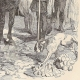 DÉTAILS 02   Révolte des Maillotins sous Charles VI - Huissier à Cheval aux Halles