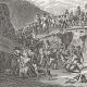 DETALLES 02   Guerras Napoleónicas - Napoleón Bonaparte Cruzando los Alpes por el Paso de San Bernardo