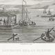 DÉTAILS 01   Guerres Napoléoniennes - Entrevue de Napoléon et du Tsar Alexandre Ier de Russie sur le Fleuve Niémen (1807)