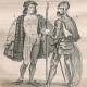 DÉTAILS 03 | Modes et Costumes Français du XVIème Siècle (16ème) - Cour du Roi de France - Louis XII (1500)