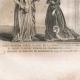 DETALLES 01   Moda Francesa y Trajes - Estilo Siglo 15 / XV - Corte del Rey de Francia - Carlos VI y Carlos VII (1400 / 1422 / 1430)