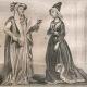 DETALLES 03   Moda Francesa y Trajes - Estilo Siglo 15 / XV - Corte del Rey de Francia - Carlos VI y Carlos VII (1400 / 1422 / 1430)