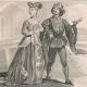 DÉTAILS 04   Modes et Costumes Français du XVème Siècle (15ème) - Jeanne d'Arc - Cour du Roi de France - Charles VII (1430)