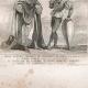 DÉTAILS 01 | Modes et Costumes Français du XVème Siècle (15ème) - Ordre de Notre-Dame du Chardon - Cour du Roi de France - Charles VI (1400)