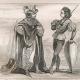 DÉTAILS 03 | Modes et Costumes Français du XVème Siècle (15ème) - Ordre de Notre-Dame du Chardon - Cour du Roi de France - Charles VI (1400)