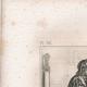 DÉTAILS 05 | Modes et Costumes Français du XVème Siècle (15ème) - Ordre de Notre-Dame du Chardon - Cour du Roi de France - Charles VI (1400)
