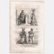 DÉTAILS 06 | Modes et Costumes Français du XVème Siècle (15ème) - Ordre de Notre-Dame du Chardon - Cour du Roi de France - Charles VI (1400)
