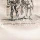DÉTAILS 01   Modes et Costumes Militaires Français du XIVème Siècle (14ème) - Bourgeois - Cour du Roi de France - Jean II (1350)