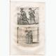 DÉTAILS 06   Modes et Costumes Militaires Français du XVIème Siècle (16ème) - Garde Suisse - Mousquetaire - Cour du Roi de France - Henri III (1580)