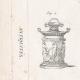 DÉTAILS 01 | Planche 316 de l'Encyclopédie Méthodique - Les Antiquités - Grèce Antique - Rome Antique - Egypte Antique - Art et Meubles