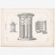 DÉTAILS 06 | Planche 316 de l'Encyclopédie Méthodique - Les Antiquités - Grèce Antique - Rome Antique - Egypte Antique - Art et Meubles