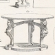 DETAILS 03 | Plate 314 of the Methodical Encyclopedia - Antiquities - Ancient Greece - Ancient Rome - Ancient Egypt - Art and Pieces of Furniture