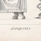 DETAILS 01   Plate 313 of the Methodical Encyclopedia - Antiquities - Ancient Greece - Ancient Rome - Ancient Egypt - Art and Pieces of Furniture