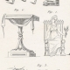 DETAILS 05   Plate 313 of the Methodical Encyclopedia - Antiquities - Ancient Greece - Ancient Rome - Ancient Egypt - Art and Pieces of Furniture