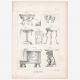 DETAILS 08   Plate 313 of the Methodical Encyclopedia - Antiquities - Ancient Greece - Ancient Rome - Ancient Egypt - Art and Pieces of Furniture