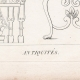DETAILS 01 | Plate 312 of the Methodical Encyclopedia - Antiquities - Ancient Greece - Ancient Rome - Ancient Egypt - Art and Pieces of Furniture