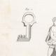 DETALLES 04   Plancha 310 de la Enciclopedia Metódica - Las Antigüedades - Antigua Grecia - Antigua Roma - Antiguo Egipto - Arte y Muebles