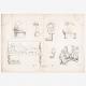 DETALLES 08   Plancha 310 de la Enciclopedia Metódica - Las Antigüedades - Antigua Grecia - Antigua Roma - Antiguo Egipto - Arte y Muebles