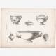DÉTAILS 07 | Planche 170 de l'Encyclopédie Méthodique - Les Antiquités - Grèce Antique - Rome Antique - Egypte Antique - Art - Vases et Céramiques