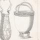 DÉTAILS 04 | Planche 180 de l'Encyclopédie Méthodique - Les Antiquités - Grèce Antique - Rome Antique - Egypte Antique - Art - Vases et Céramiques