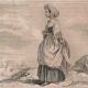 DÉTAILS 05 | Modes et Costumes - Terre Sainte - Palestine - Douze Tribus d'Israël - Jeune Fille de la Tribu d'Israël - Chasseur