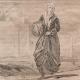 DETAILS 04   Fashion and Costumes - The Holy Land - Palestine - Twelve Tribes of Israel - Dervish or Turkish Monk in Jerusalem - Jewish Saleswoman