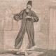 DETAILS 05   Fashion and Costumes - The Holy Land - Palestine - Twelve Tribes of Israel - Dervish or Turkish Monk in Jerusalem - Jewish Saleswoman