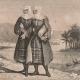 DÉTAILS 05 | Modes et Costumes - Terre Sainte - Palestine - Douze Tribus d'Israël - Femmes Juives des Environs de Jerusalem - Evêque Arménien Confessant