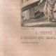DÉTAILS 02   Terre Sainte - Palestine - Douze Tribus d'Israël - Tente des Israëlites dans le Désert - Chariot qui Servait à Transporter le Tabernacle dans le Désert