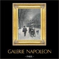 Walk in Sledge (Marie François Firmin-Girard)