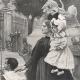 DETAILS 04   Alsatian Woman with her Children - Alsace (Joan Berg)