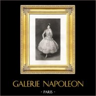 Carmencita - Bailarina Americana (John Singer Sargent) | Original fotograbado. Anónimo según J.S. Sargent. 1892