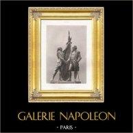 Monumento de París - Estatua de Lafayette y Washington (Frédéric Auguste Bartholdi)