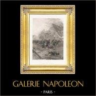 Franco-Prussian War of 1870 - Fights in a Village (Paul Grolleron)