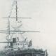 DÉTAILS 04   Cuirassé Russe Empereur Nicolas 1er - L'Escadre Russe en Rade de Toulon en 1893 (Eugène Dauphin)