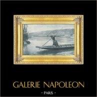 Batelier - Marinier - Barque - La Fille du Passeur (Louis Emile Adan)