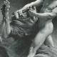 DÉTAILS 04   Tanakh - Bible Hébraïque - Chimchon - Le Combat de Samson avec le Lion (Léon Bonnat)