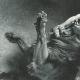 DÉTAILS 06   Tanakh - Bible Hébraïque - Chimchon - Le Combat de Samson avec le Lion (Léon Bonnat)