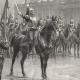 DÉTAILS 03   Régiments de Cavalerie - Cuirassiers - Présentation de l'étendard aux Recrues (Louis Auguste Georges Loustaunau)