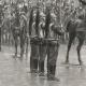 DÉTAILS 04   Régiments de Cavalerie - Cuirassiers - Présentation de l'étendard aux Recrues (Louis Auguste Georges Loustaunau)