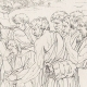 DÉTAILS 05   Renaissance Italienne - Bible - Egypte - Joseph Vendu par ses Frères aux Ismaélites (Raffaello Sanzio dit Raphaël)