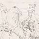 DÉTAILS 06   Renaissance Italienne - Bible - Egypte - Joseph Vendu par ses Frères aux Ismaélites (Raffaello Sanzio dit Raphaël)