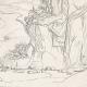 DÉTAILS 06   Mythologie - Renaissance Italienne - Les Amours de Psyché et de Cupidon (Eros) : Vénus (Aphrodite) Ordonne à Psyché de lui Apporter Les Toisons d'Or (Raffaello Sanzio dit Raphaël)