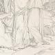 DÉTAILS 07   Mythologie - Renaissance Italienne - Les Amours de Psyché et de Cupidon (Eros) : Vénus (Aphrodite) Ordonne à Psyché de lui Apporter Les Toisons d'Or (Raffaello Sanzio dit Raphaël)