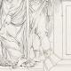 DÉTAILS 08   Mythologie - Renaissance Italienne - Les Amours de Psyché et de Cupidon (Eros) : Les Soeurs de Psyché devenues Reines (Raffaello Sanzio dit Raphaël)