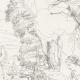 DÉTAILS 07   Mythologie - Renaissance Italienne - Les Amours de Psyché et de Cupidon (Eros) : Psyché Emportée par Zéphyr (Raffaello Sanzio dit Raphaël)